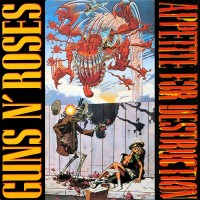 "GUNS N'ROSES - APPETITE FOR DESTRUCTION ""BRA"""