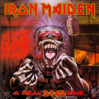 """IRON MAIDEN - A REAL DEAD ONE """"BRA"""""""