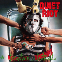 "QUIET RIOT -  CONDITION CRITICAL ""BRA"""