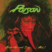 "POISON -  OPEN UP AND SAY... AHH!  ""BRA"""