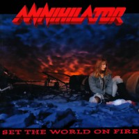 ANNIHILATOR - SET THE WORLD ON FIRE  ''BRA''